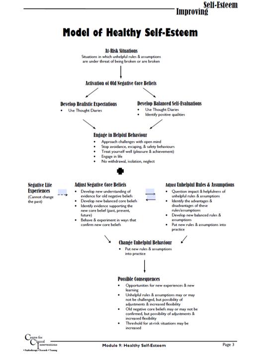 CCI: Model of Healthy Self Esteem